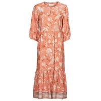 Textiel Dames Lange jurken Cream JOHUI DRESS Orange