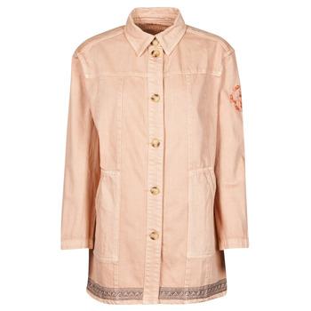 Textiel Dames Jasjes / Blazers Cream OFELIA JACKET Roze
