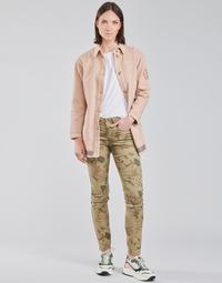 Textiel Dames 5 zakken broeken Cream LOTTE PRINTED Multikleuren