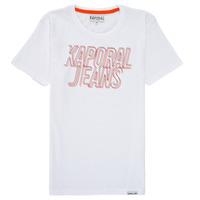 Textiel Jongens T-shirts korte mouwen Kaporal MAIL Wit