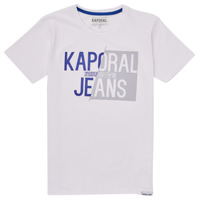 Textiel Jongens T-shirts korte mouwen Kaporal MAYO Wit