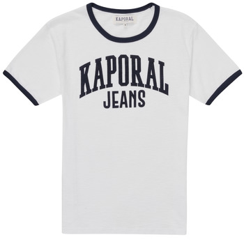 Textiel Jongens T-shirts korte mouwen Kaporal METRO Wit