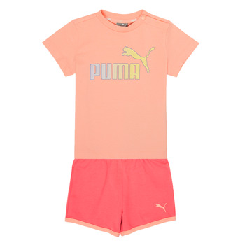 Textiel Meisjes Setjes Puma BB SET ABRI Roze