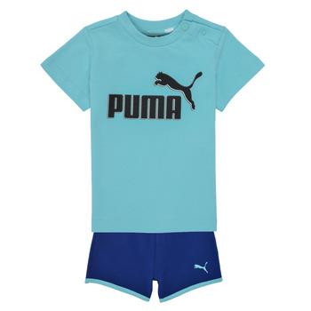 Textiel Jongens Setjes Puma BB SET ANGEL Blauw