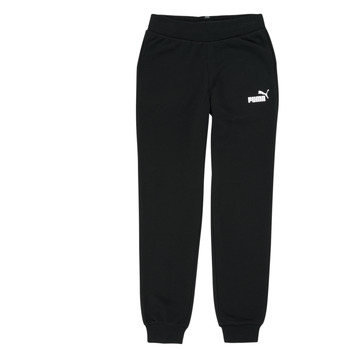 Textiel Meisjes Trainingsbroeken Puma ESS SWEATPANT Zwart