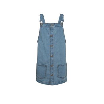 Textiel Meisjes Korte jurken Pepe jeans CHICAGO PINAFORE Blauw