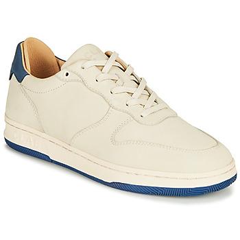 Schoenen Lage sneakers Clae MALONE Beige / Blauw