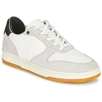 Schoenen Lage sneakers Clae MALONE Wit / Grijs