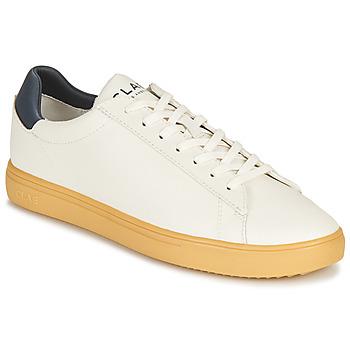 Schoenen Lage sneakers Clae BRADLEY CACTUS Wit / Blauw