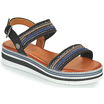 Schoenen Dames Sandalen / Open schoenen Mustang NORMA Zwart