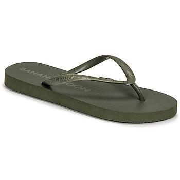 Schoenen Dames Slippers Banana Moon SWAINS TAHUATA Groen