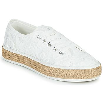 Schoenen Dames Lage sneakers Banana Moon ECHA MURRAY Wit