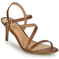 Schoenen Dames Sandalen / Open schoenen Lauren Ralph Lauren LANDYN Cognac