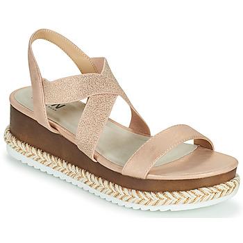 Schoenen Dames Sandalen / Open schoenen Elue par nous JELLYA Roze / Zilver
