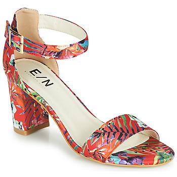 Schoenen Dames Sandalen / Open schoenen Elue par nous JOUAL Rood