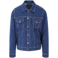 Textiel Heren Spijker jassen So Denim SD060 Donkerblauwe was