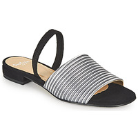 Schoenen Dames Sandalen / Open schoenen Perlato 11117-YORK-ARGENT-CAM-NOIR Zwart / Zilver