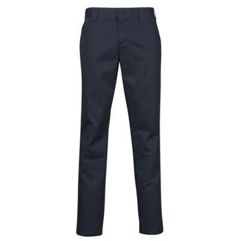 Textiel Heren 5 zakken broeken Dickies SLIM FIT WORK PNT Marine