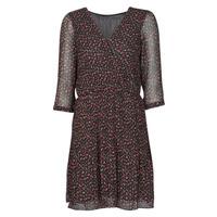 Textiel Dames Korte jurken Moony Mood NOULINE Zwart / Rood