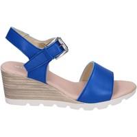Schoenen Dames Sandalen / Open schoenen Rizzoli Sandali Pelle Blu