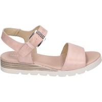Schoenen Dames Sandalen / Open schoenen Rizzoli Sandali Pelle Rosa