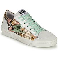 Schoenen Dames Lage sneakers Semerdjian ELISE Wit / Brown