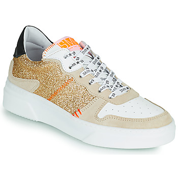 Schoenen Dames Lage sneakers Semerdjian SUVA Goud / Wit / Orange
