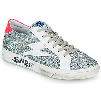 Schoenen Dames Lage sneakers Semerdjian CATRI Zilver / Roze