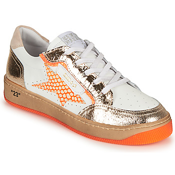 Schoenen Dames Lage sneakers Semerdjian ARTO Wit / Orange