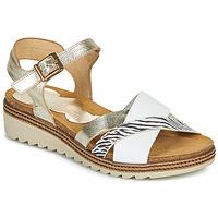 Schoenen Dames Sandalen / Open schoenen Dorking ESPE Wit / Zilver