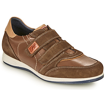 Schoenen Heren Lage sneakers Fluchos 9271-CRETA-FOCA Brown