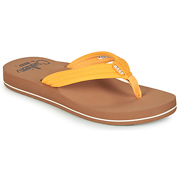 Schoenen Dames Slippers Reef REEF CUSHION BREEZE Geel
