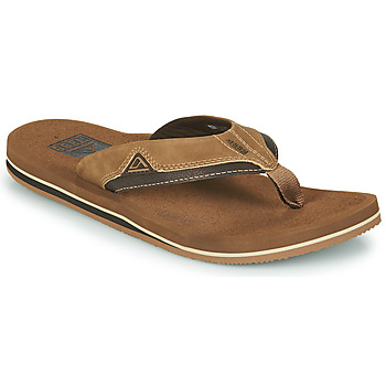 Schoenen Heren Slippers Reef CUSHION DAWN Brown