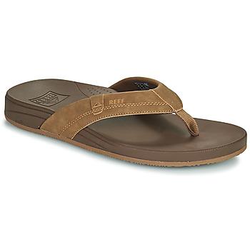 Schoenen Heren Slippers Reef CUSHION SPRING Brown