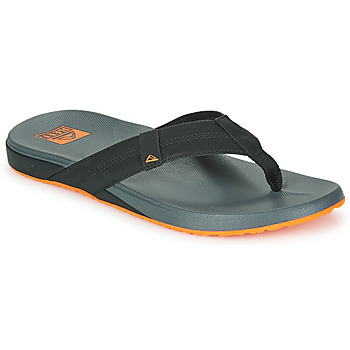 Schoenen Heren Slippers Reef CUSHION PHANTOM Zwart / Orange