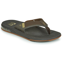 Schoenen Heren Slippers Reef FANNING LOW Brown