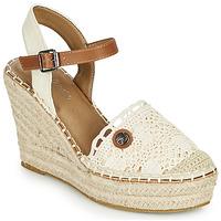 Schoenen Dames Sandalen / Open schoenen Tom Tailor DEB Creme
