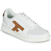 Schoenen Heren Lage sneakers Faguo HAZEL LEATHER Wit / Brown