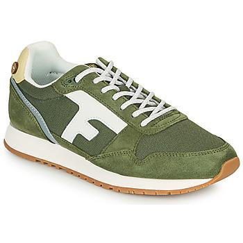 Schoenen Lage sneakers Faguo ELM Kaki / Wit / Geel