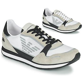 Schoenen Heren Lage sneakers Emporio Armani EMPAGNO Wit