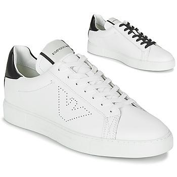 Schoenen Heren Lage sneakers Emporio Armani BELGA Wit