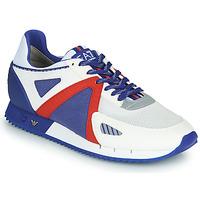 Schoenen Heren Lage sneakers Emporio Armani EA7 SAPONI Wit / Blauw / Rood