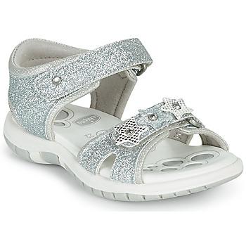 Schoenen Meisjes Sandalen / Open schoenen Chicco FABIANA Zilver