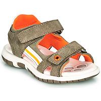 Schoenen Jongens Sandalen / Open schoenen Chicco FLAUTO Kaki
