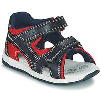 Schoenen Jongens Sandalen / Open schoenen Chicco GEREMIA Blauw