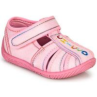 Schoenen Meisjes Sloffen Chicco TULLIO Roze