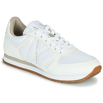 Schoenen Dames Lage sneakers Armani Exchange VINCENTI Wit