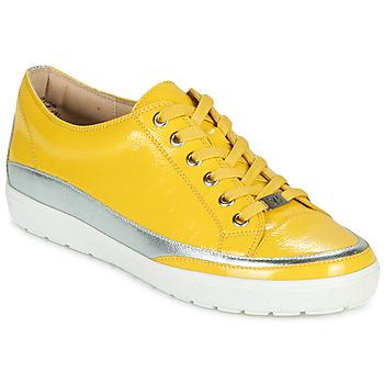 Schoenen Dames Lage sneakers Caprice 23654-613 Geel / Zilver