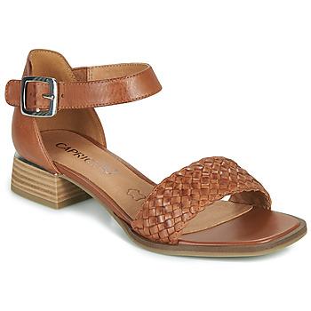 Schoenen Dames Sandalen / Open schoenen Caprice 28208-303 Cognac