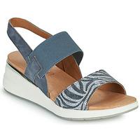 Schoenen Dames Sandalen / Open schoenen Caprice 28306-849 Grijs